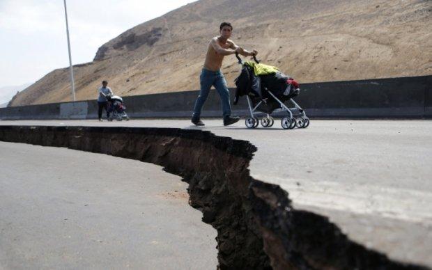 Побережье Чили всколыхнуло мощное землетрясение