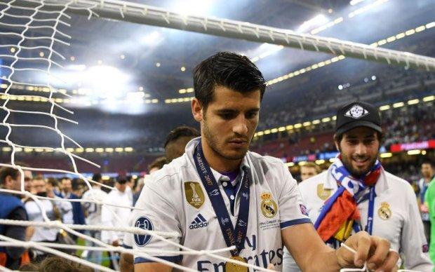 Іспанський футболіст попрощався з Реалом