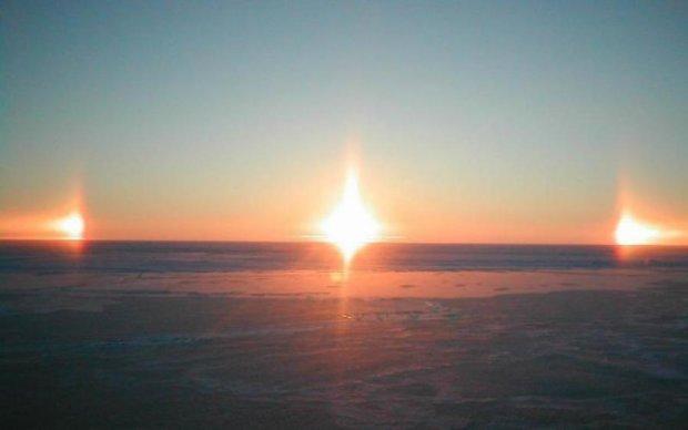 Землю освітлювали три Сонця. Куди поділись ще два