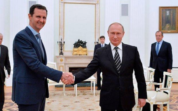 У Путина отказались свергать Асада
