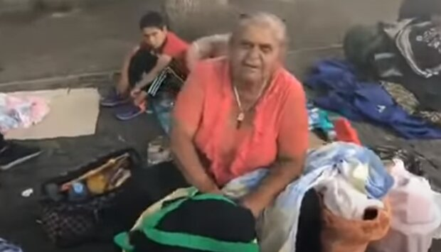 На Тернопольщине воровки ромской национальности оставили пенсионерку без похоронных денег