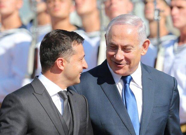 Зеленский и Нетаньяху, фото:Униан
