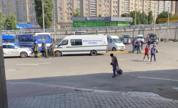 центральный автовокзал в Киеве, фото Obozrevatel