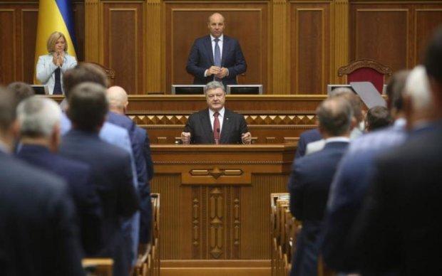 Порошенко закрыл вопрос депутатской неприкосновенности
