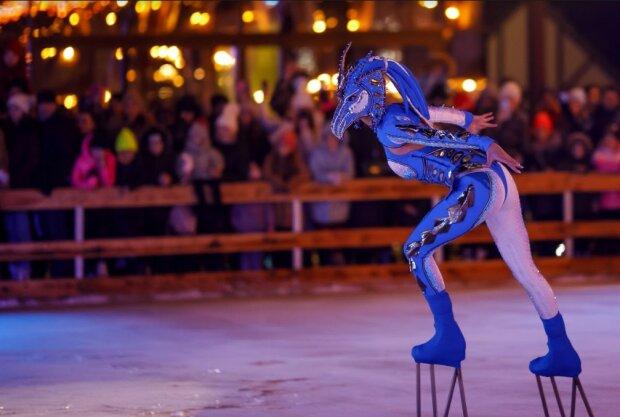 """Феєрія на льоду: в Osocor Residence вразили прем'єрою циркового шоу """"Чаросвіт"""""""