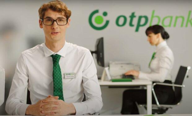 OTP Bank, скріншот з відео