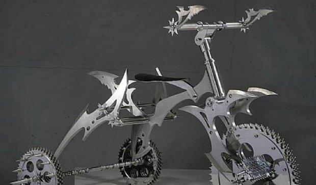 Китаєць створює металеві коляски з боєприпасами для суворих мам (фото)