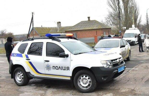 Полиция, фото Национальной полиции