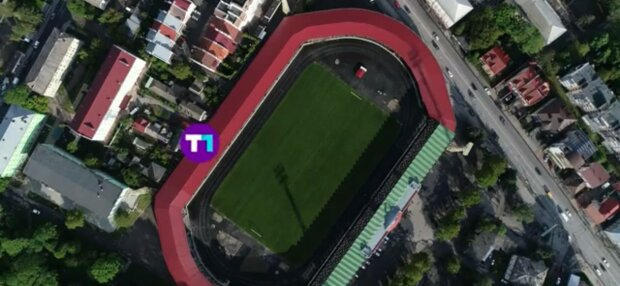 Стадион в Тернополе, фото: скриншот из видео