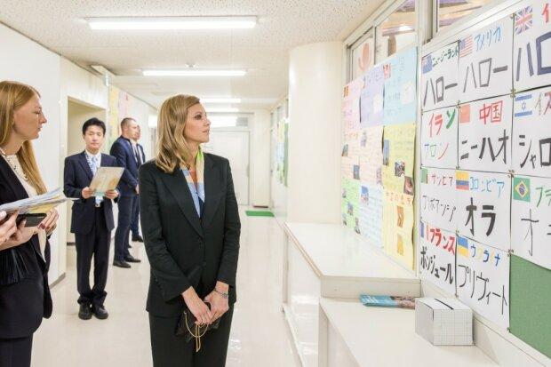 """Первая леди Елена Зеленская привезла в Украину полезные японские традиции, все для детей: """"Уверена, это развивает..."""""""