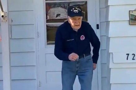 Ветеран, скрін з відео