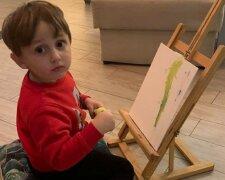 3-річний син депутата Соболєва, фото з вільних джерел