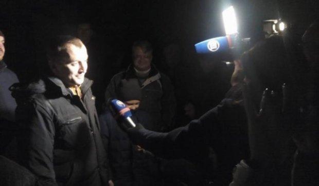 Экс-нардепа Сиротюка ночью выпустили из СИЗО