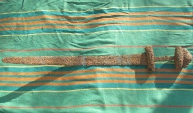 Украинский меч викингов вернется на родину