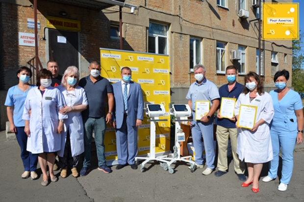Україна високо оцінила роботу Фонду Ріната Ахметова