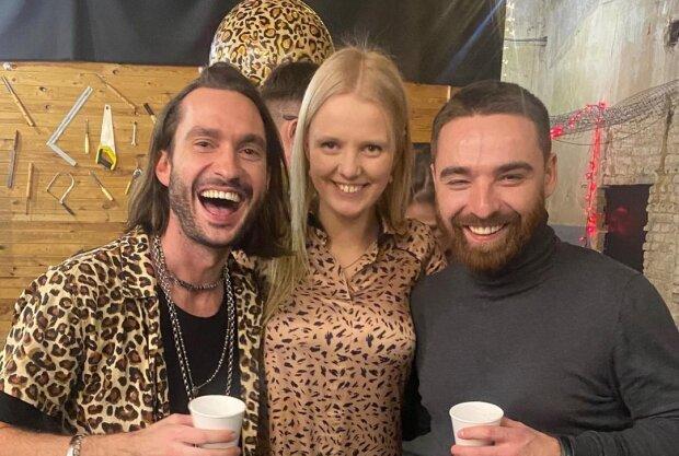 Олексій Тригубенко з друзями, фото з Instagram