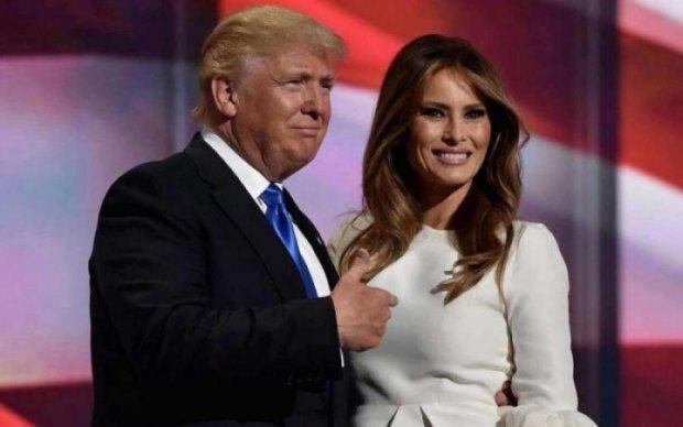 Меланія Трамп в ефектному образі переплюнула саму королеву: фото