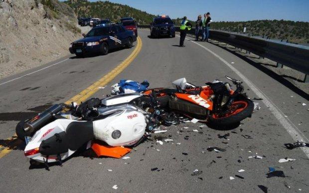Екстремал зафільмував моторошну аварію від першої особи