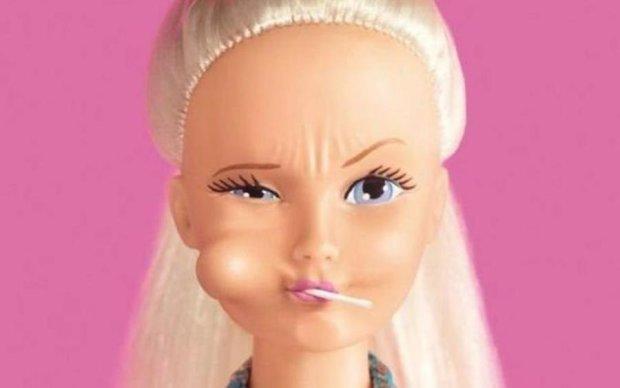 Польская Барби превратилась в скелет: фото