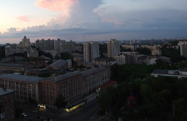 Панорама Києва, скріншот: YouTube