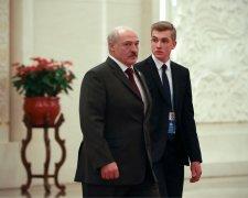 Олександр Лукашенко з сином Миколою