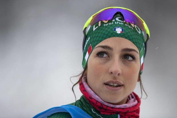 Розкішна італійська біатлоністка виграла другу гонку поспіль