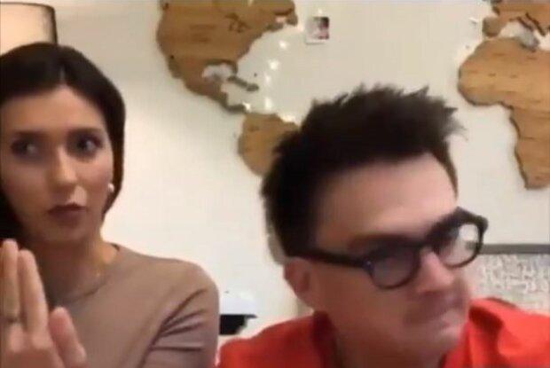 Регіна Тодоренко і Влад Топалов, скріншот: YouTube