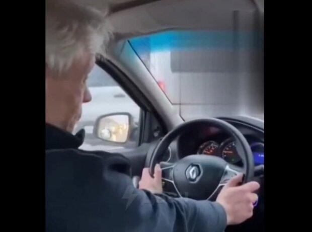 таксист, скріншот з відео