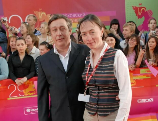 Михаил Ефремов с женой, фото: Legion-Media