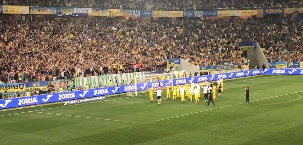 Сборная Украины по футболу, скриншот: Youtube