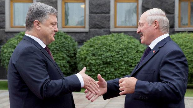 И нашим, и вашим: президент Беларуси не может выбрать между Путиным и Порошенко