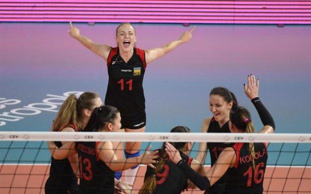 Украинские волейболистки в невероятном стиле прошли групповой этап Евролиги