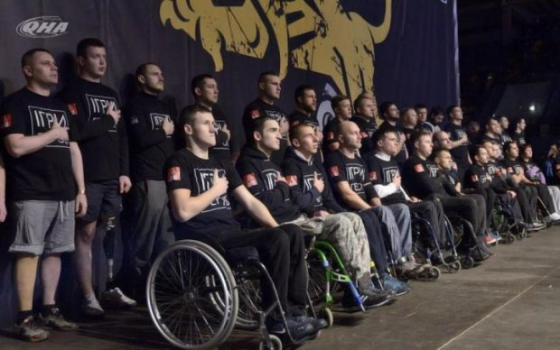Ветеран АТО без ног показал пример настоящего мужества и героизма