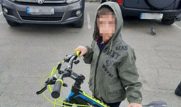 Хлопчик, фото: Патрульна поліція