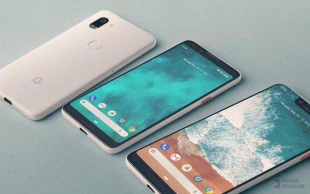 """Google Pixel 3: пошуковик показав """"вбивцю"""" iPhone"""