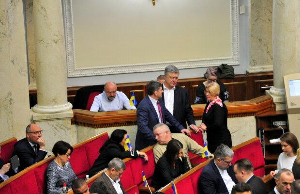Петро Порошенко,Ірина Геращенко/Верховна Рада - фото Знай.ua