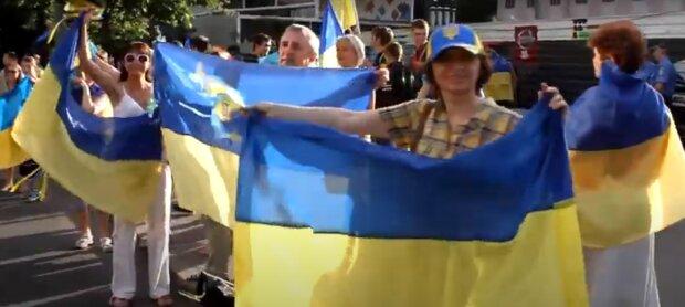 День конституции Украины 2020, скриншот - YouTube