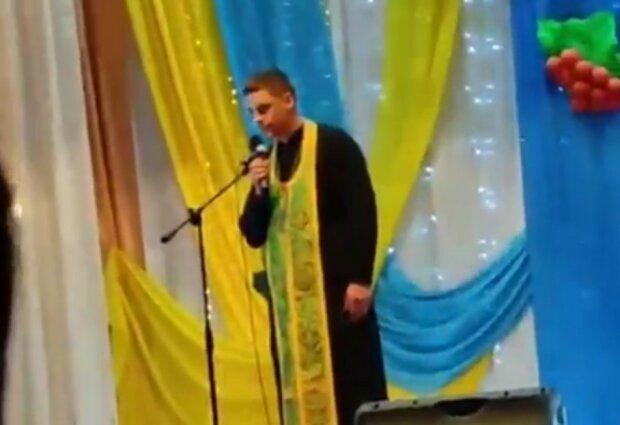 """Священик ПЦУ під час виступу назвав московських попів """"ла*ном"""": """"Слава Україні"""""""