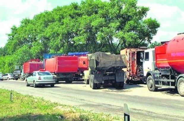 Киевлян отравляет мусор из Львова