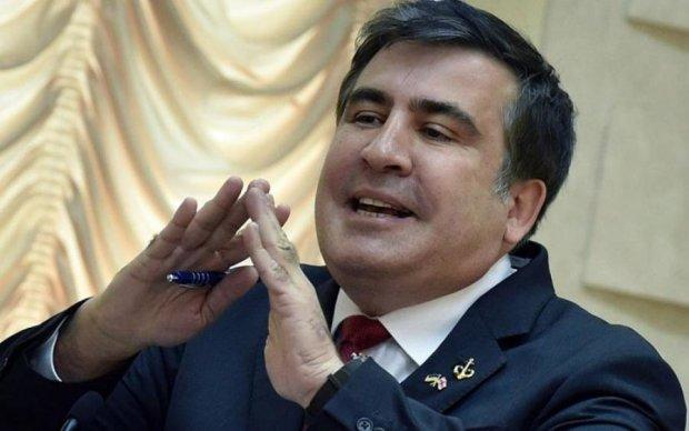 Не VIP: Саакашвили удивил украинцев простотой