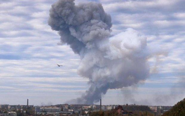 Потужний вибух струсонув Луганськ
