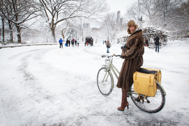 Київські велосипедисти підтримали всесвітній флешмоб: на роботу з вітерцем