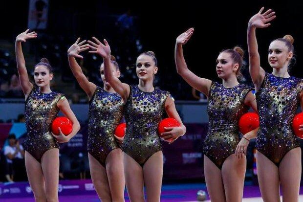 Украинские гимнастки завоевали три золотых медали Кубка мира: видео