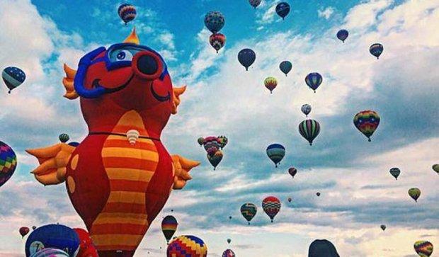 20 стран мира участвовали в фестивале гигантских воздушных шаров (фото)