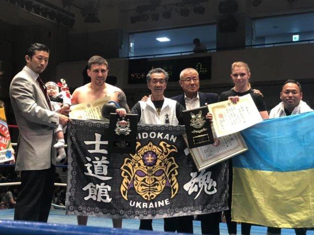Михайло Годинець виграв турнір з кікбоксингу в Японії