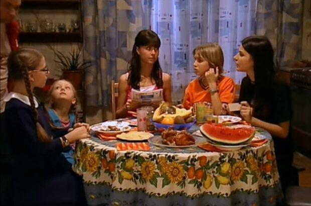 Папины дочки, кадр из видео