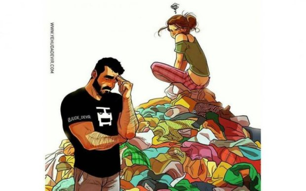 Художник розбив ілюзії чесними коміксами про подружнє життя