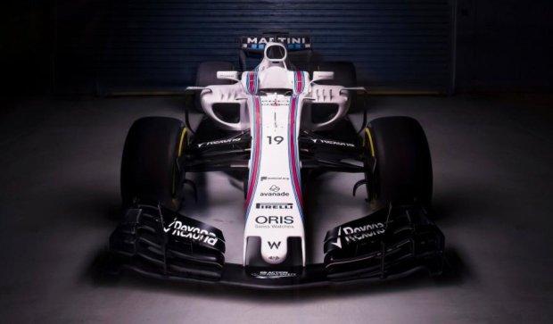 Вільямс презентував новий болід Формули-1