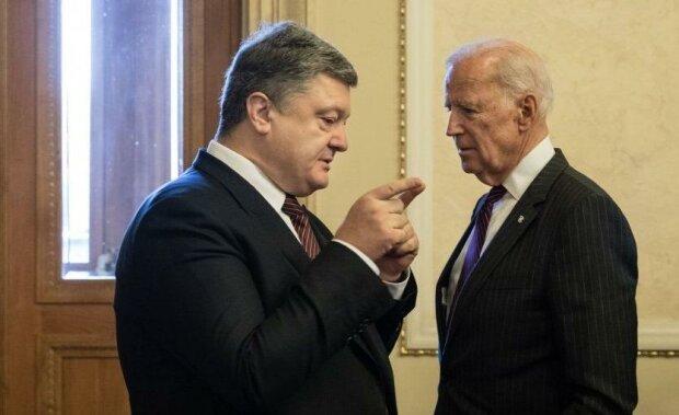 Порошенко и Байден, фото из свободных источников