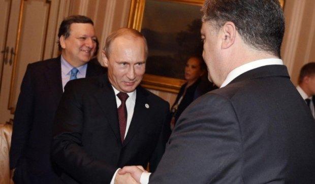Путин самовыражается за счет Порошенко